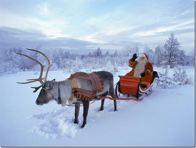FINLAND-FATHER CHRISTMAS